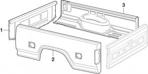 Styleside Bed Panels