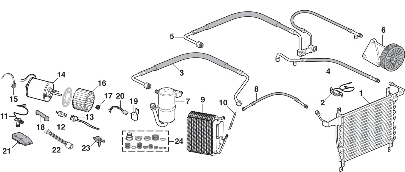 Air Conditioner Components