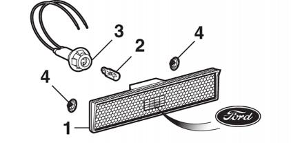 Front Sidemarker Light Components