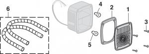 Stepside Tail Light Components