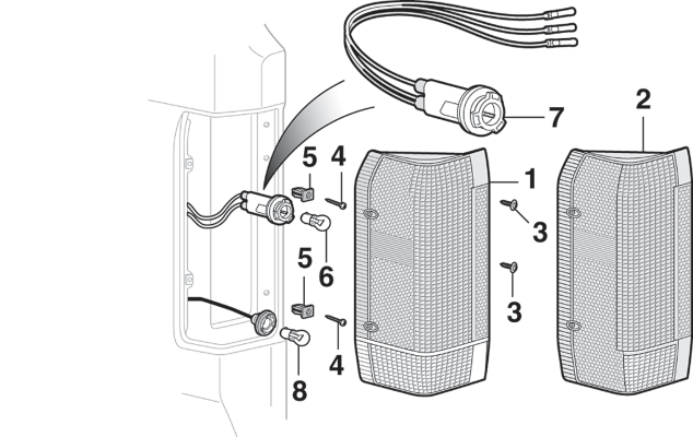 Tail Light and Components
