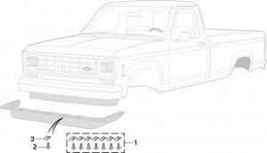 Air Deflector Components