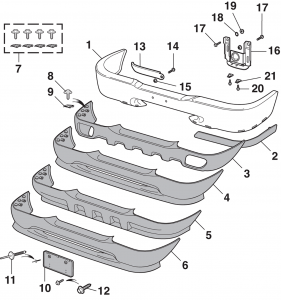 Front Bumper and Components