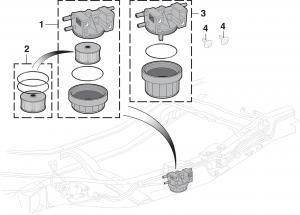Fuel Reservoir Assembly - Gas