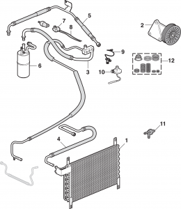 Factory Air Conditioning Components
