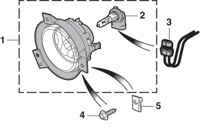 Fog Light and Components