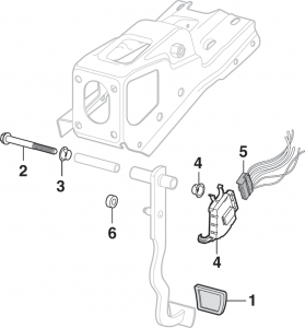 Brake Pedal Assembly