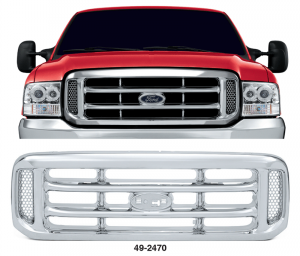 All Chrome Grille