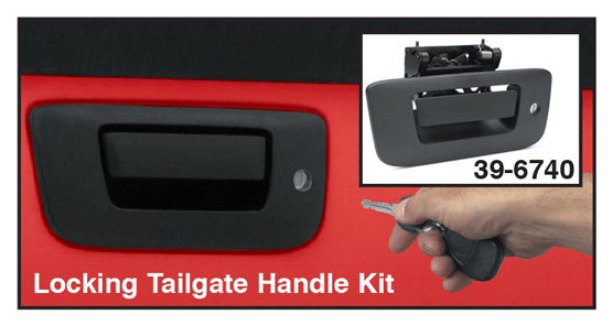 Locking Tailgate Handle Kit