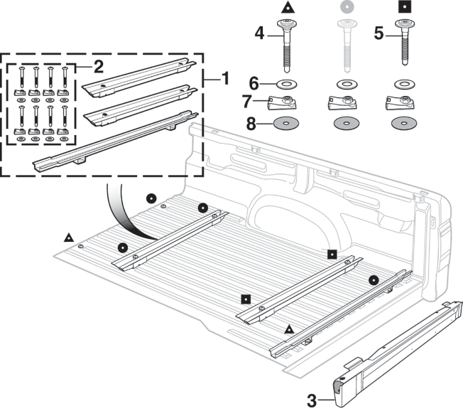Bed Floor and Components