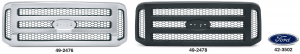 Grilles with Honeycomb Insert