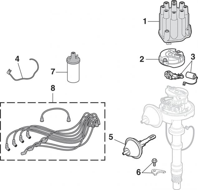 Ignition Components - V8