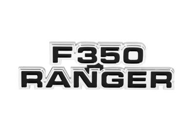 F350 Ranger Cowl Side Emblem