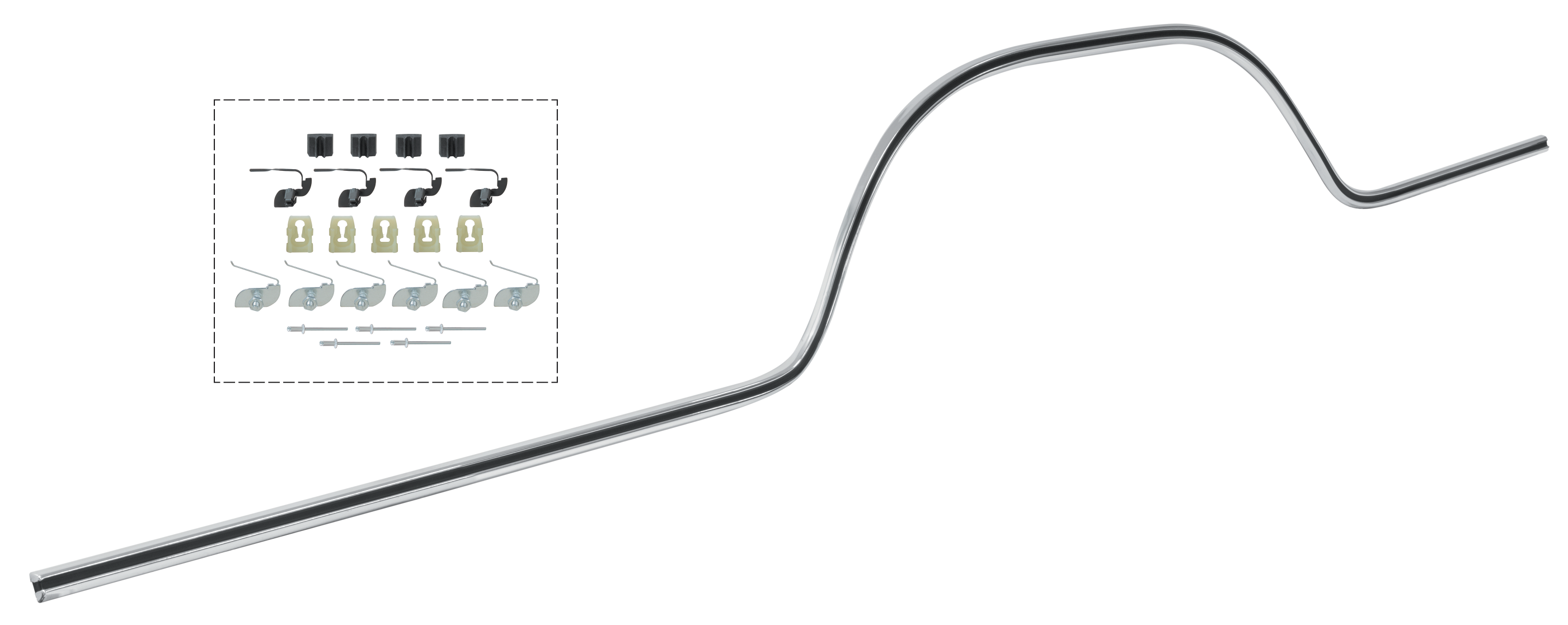 Lower Race Track Style Bed Molding