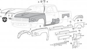 Steel Body Parts