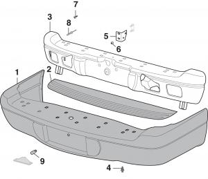 Rear Bumper and Components