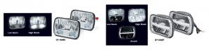 200MM LED Headlight Sets
