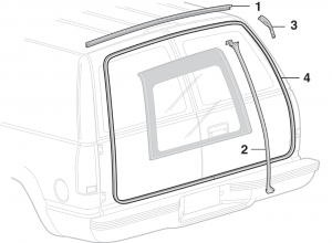 Cargo Door Rubber Components