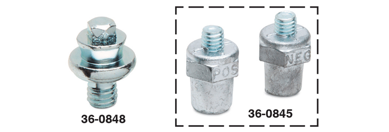 Side Terminal Battery Bolt and Conversion Set