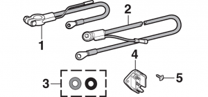 Battery Cables and Junction Block