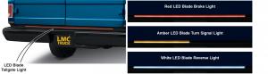 LED Blade Tailgate Light ... Over 2,000 LEDs for a Distinctive Look