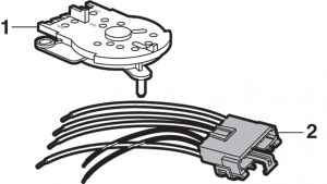 1983-87 A/C Rotary Select Switch
