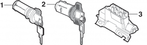 1973-87 Ignition Lock Cylinders and Switches