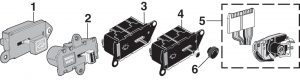 1973-87 Windshield Wiper Switches