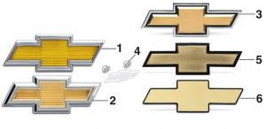 1975-91 Grille Emblems