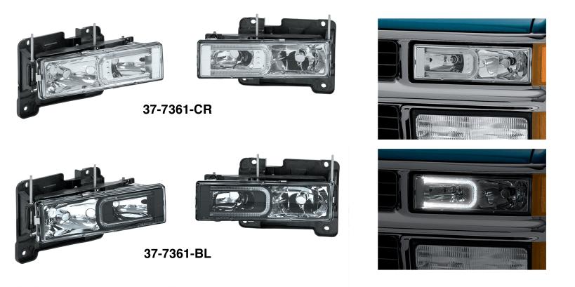Custom Halo Headlight Sets
