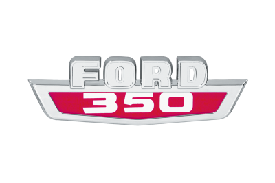Ford F350 Hood Side Emblem
