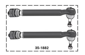 Heavy-Duty Tie Rod Set