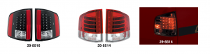 LED Tail Light Sets ... The Future of Automotive Lighting