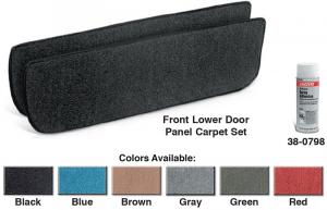 Lower Door Panel Carpet Set