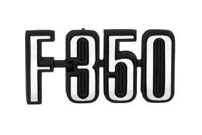 F350 Fender Emblem