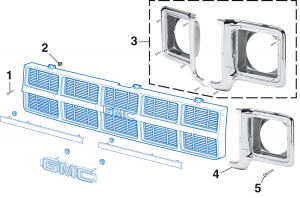 1973-78 Grille Components