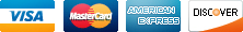 accepted payments - Visa, Mastercard, American Express, Discover