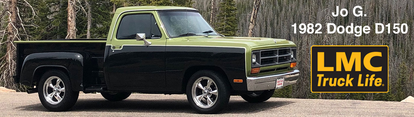LMC Trucklife Story - Jo G.