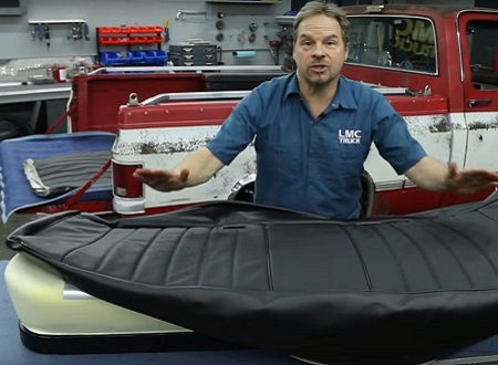 LMC Truck Bench Seat Reupholstery