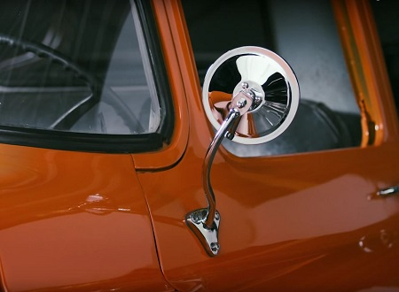 Reproduction Chrome Door Mirrors